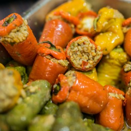 Chaso's Gourmet Deli Stuffed Peppers