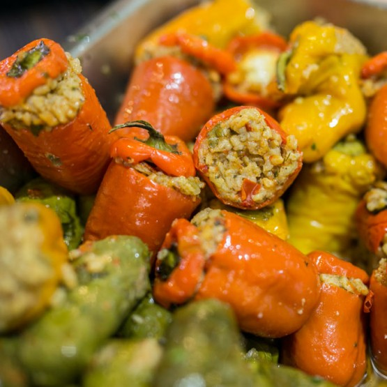 Chaso's Gourmet Deli Stuffed Peppers