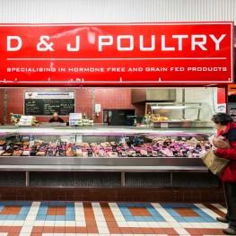 D&J Poultry shopfront