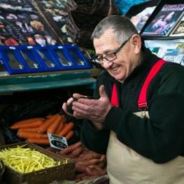 Damian Pike Truffles Mushroom Man