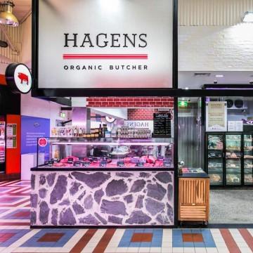 Hagen's Organic Meat Shopfront
