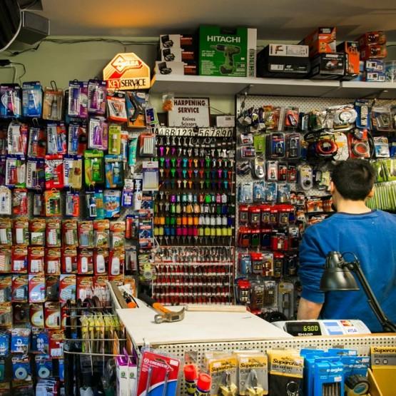 Prahran Market Hardware Inside