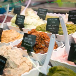 Naheda's Choice Dips and Turkish Delight