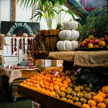 Pino's Fruit and Veg shopfront