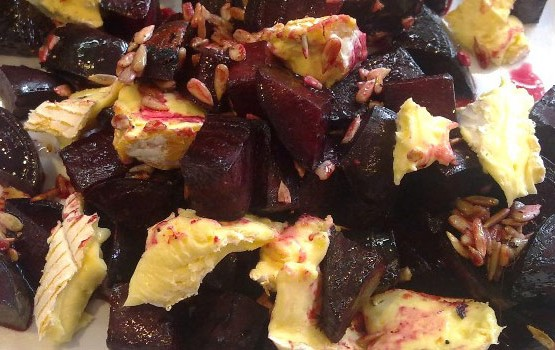 Beetroot and Brie Salad