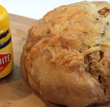 Cheesy Vegemite Damper