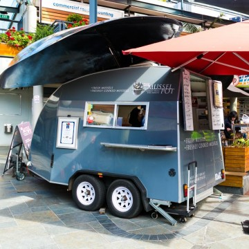 The Mussel Pot Van