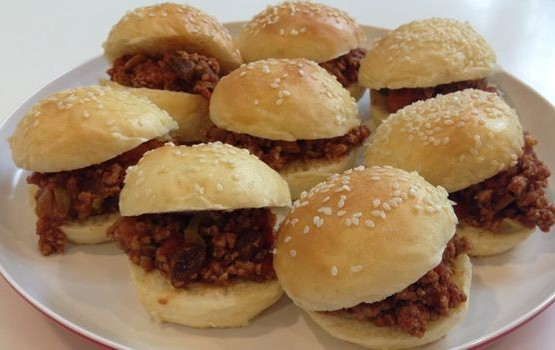 Pork Picadillo Sliders