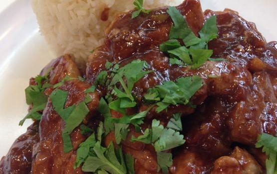 Spicy Sweet Pork Tenderloin