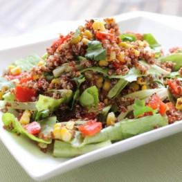 Corn & Quinoa Salad