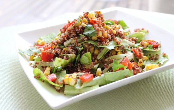 Corn & Quinoa Salad