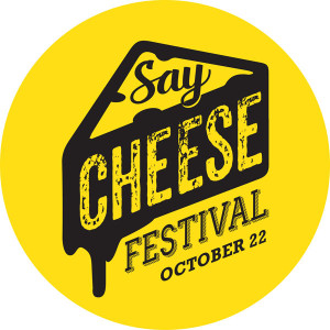 Say cheese festival logo