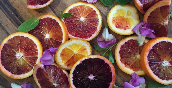 5 ways with blood orange