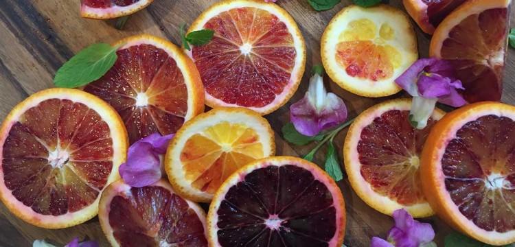 5 ways with blood orange