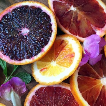 Must try blood orange products