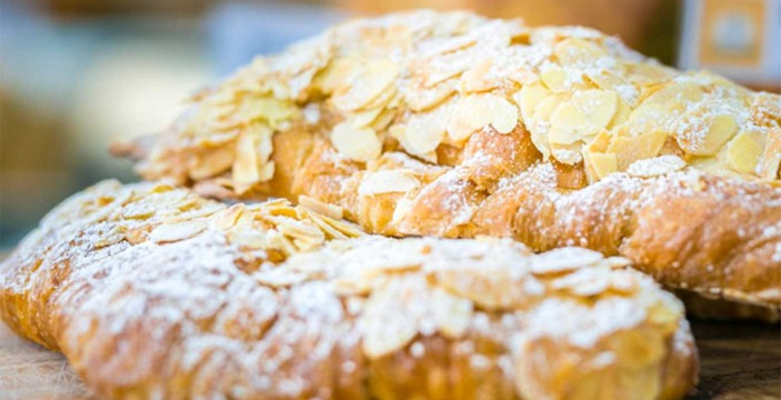 croissant afternoon pick-me-up