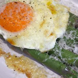 Asparagus Milanese