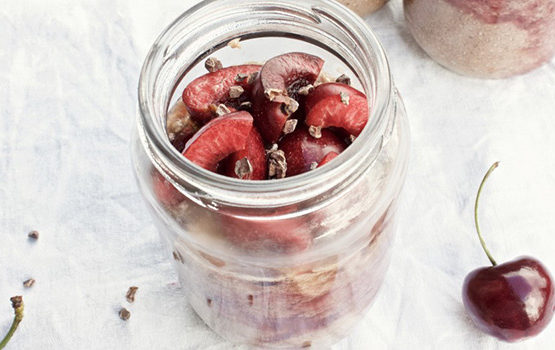 Choc Cherry Chia Pudding