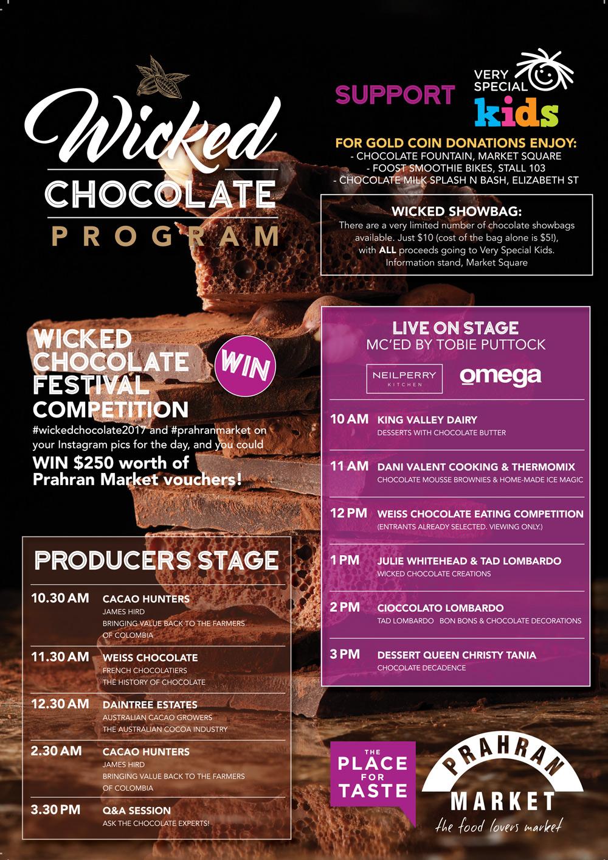 Wicked Chocolate Program