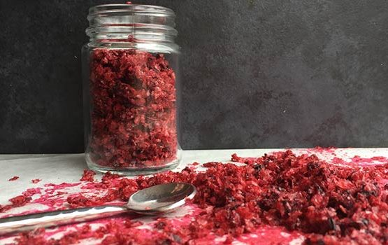 Blackberry salt