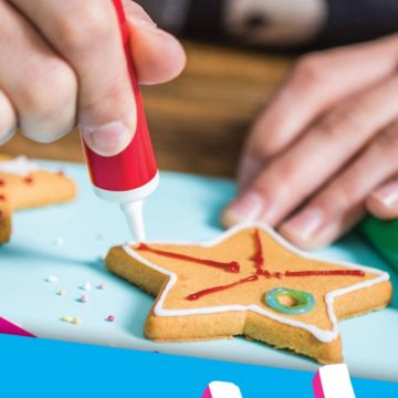 School Holiday Cookie Decorating