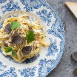 Truffled Fettucini Carbonara