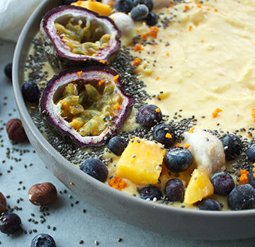 Turmeric Smoothie bowl