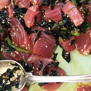 Tobie's Spicy Tuna Poke Recipe