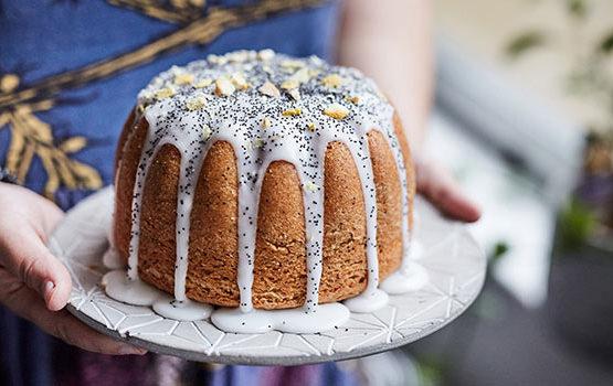 Lemon Olive Oil Poppy Seed Cake