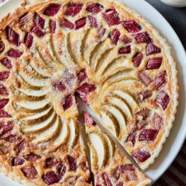 Apple and Rhubarb Tart