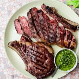 Hagen's reverse sear steak