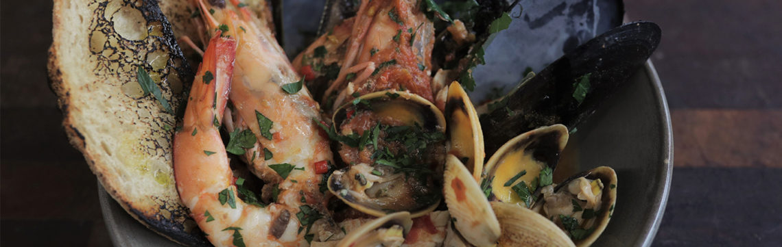 Tobie seafood soup