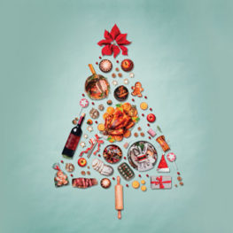 food Christmas Tree