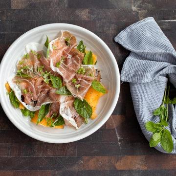 Tobie Puttock prosciutto salad