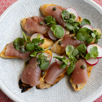 Tuna Crudo recipe