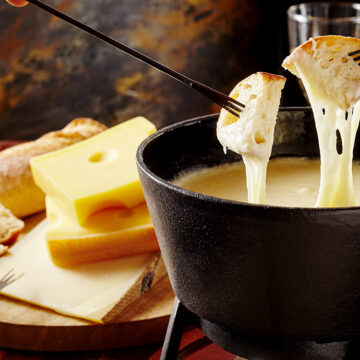 Cheese fondue in Melbourne's lockdown