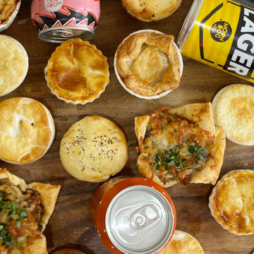 Footy finals pie promotion