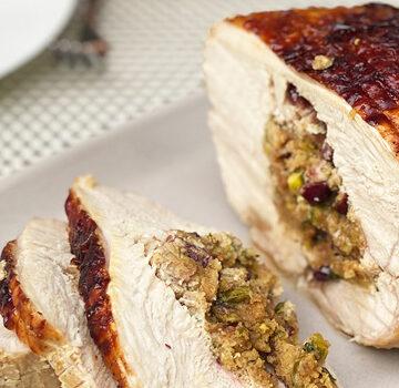Verjuice Roasted Boneless Turkey