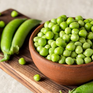 5 ways with peas